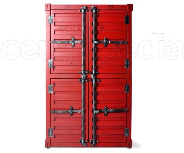Garage Mobile Contenitore Metallo