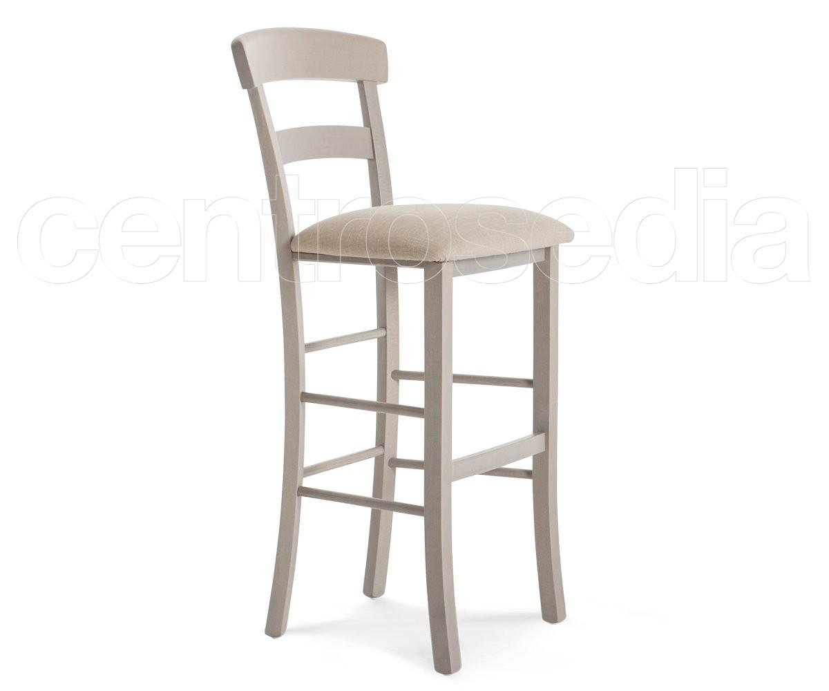 Roma sgabello legno seduta imbottita sgabelli legno classico e