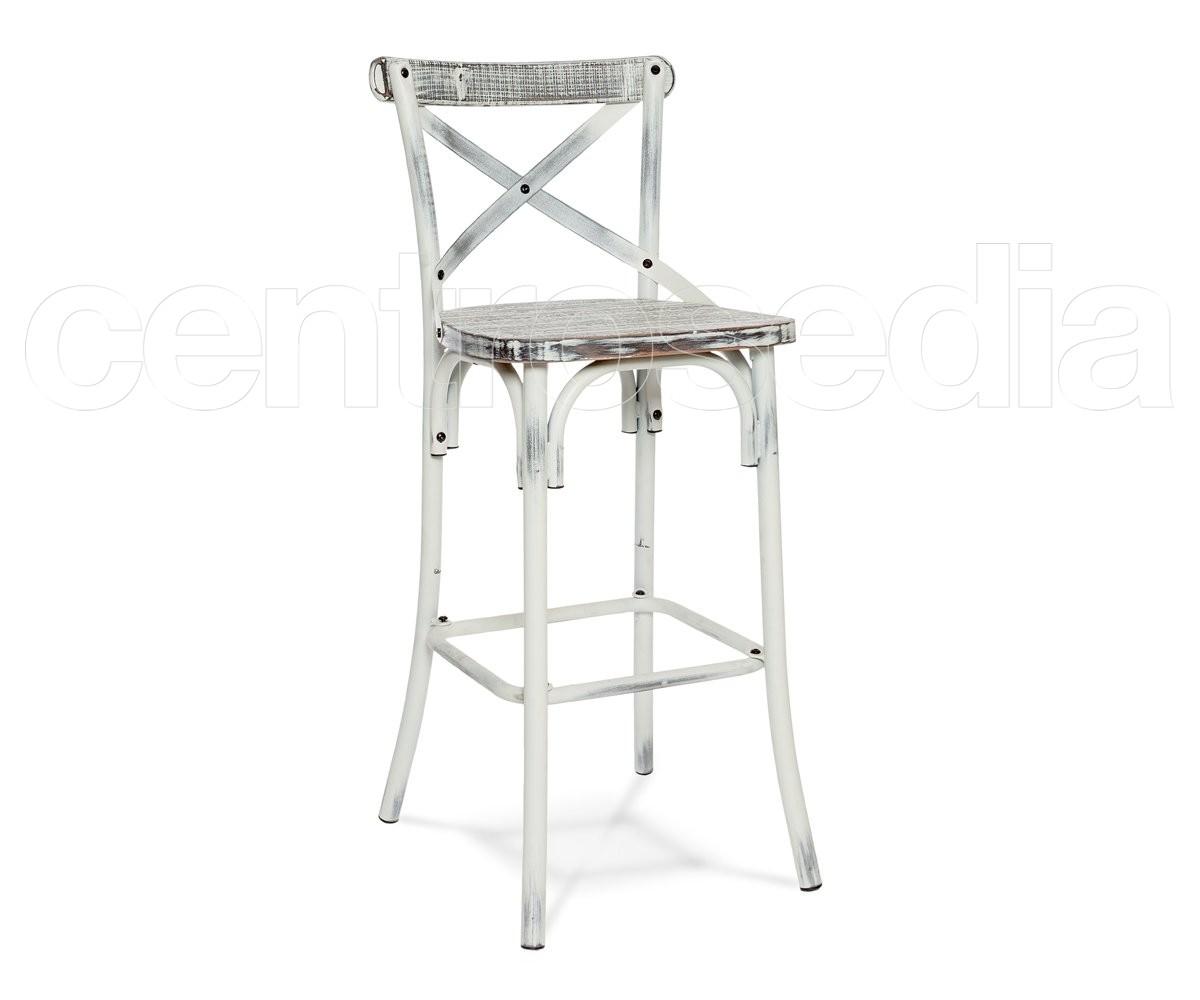 Surprising Cross Vintage Metal Stool Wood Seat Vintage Industrial Inzonedesignstudio Interior Chair Design Inzonedesignstudiocom
