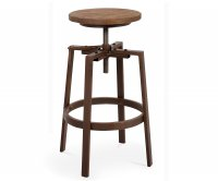 """Denver"" Old Style Metal High Stool"
