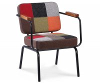 """Twist"" Vintage Fabric Armchair"
