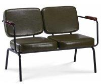 """""""Twist"""" Vintage PU Sofa"""