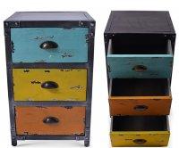 Matisse Metal Cabinet 3 Drawers