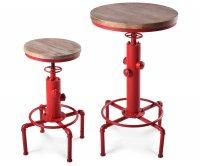 Hydro Metal Table - Wood Top