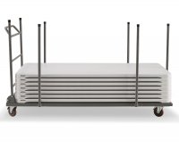 Square and Rectangular Tables Holder Trolley