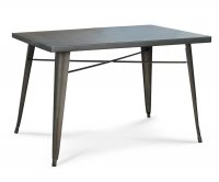 """""""Ares"""" Old Style Metal Table 120x80 cm"""