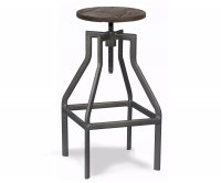"""Oregon"" Old Style Metal High Stool"